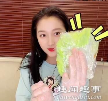 关晓彤公开蔬菜三明治教程 到底是怎么做的?