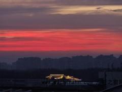 北京晚霞是怎么回事? 为什么会出现这个景色?