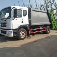 天水市政环卫订购国六12方大型压缩式垃圾车勾臂式垃圾车厂价格